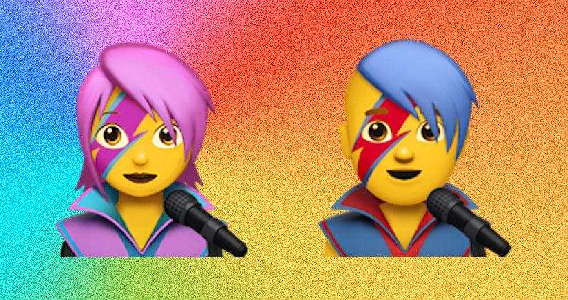 David Bowie Emoji