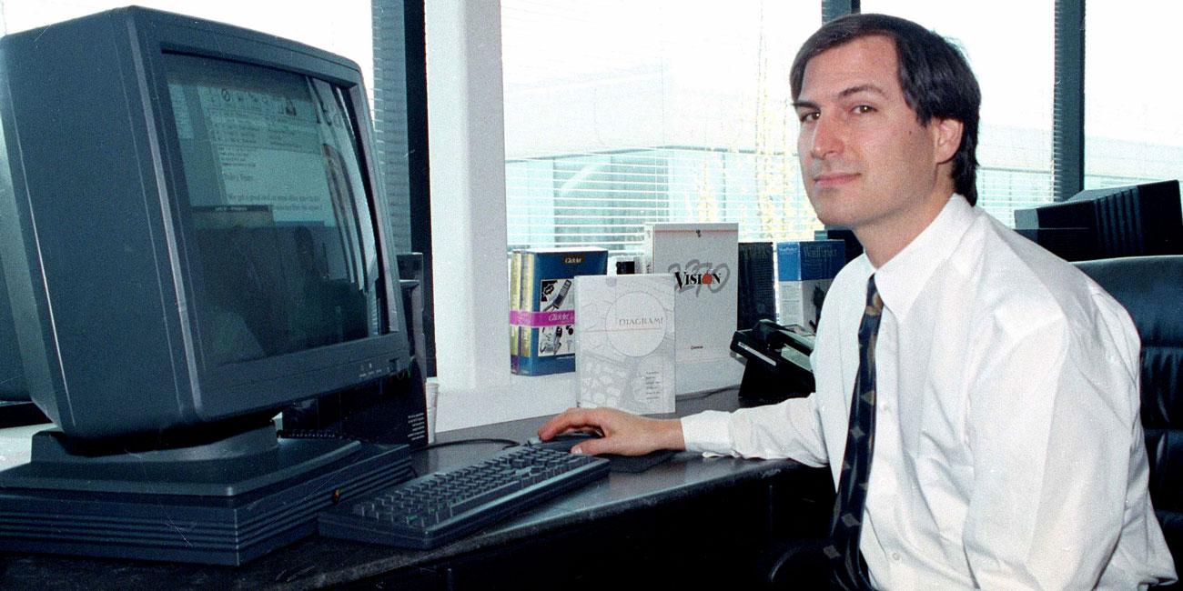 Steve Jobs e a NeXT