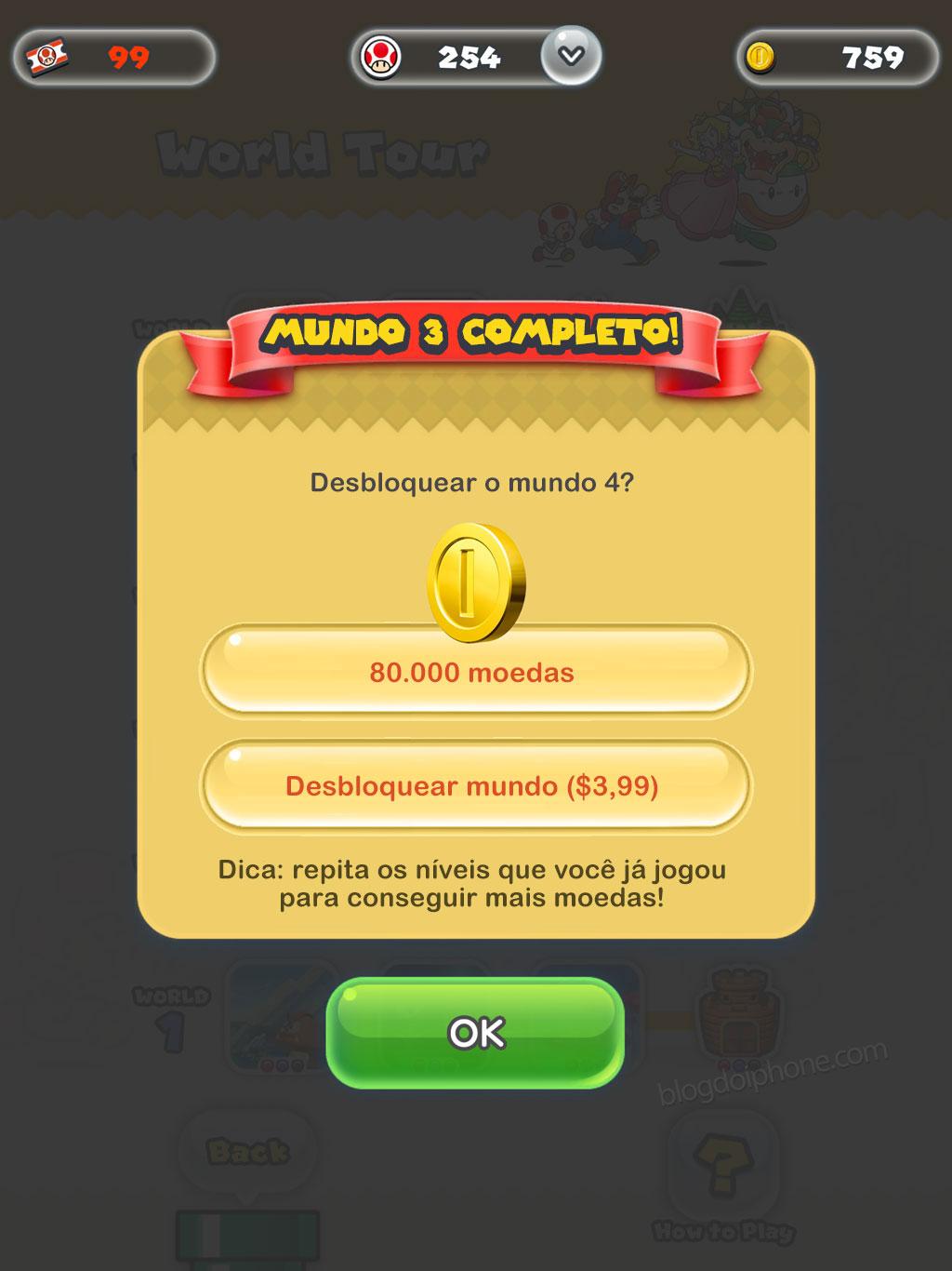 Super Mario Run Freemium