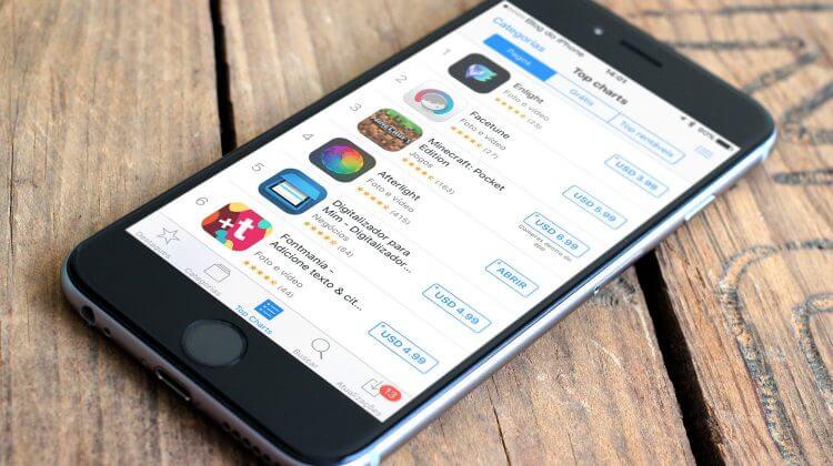 App Store Dólar