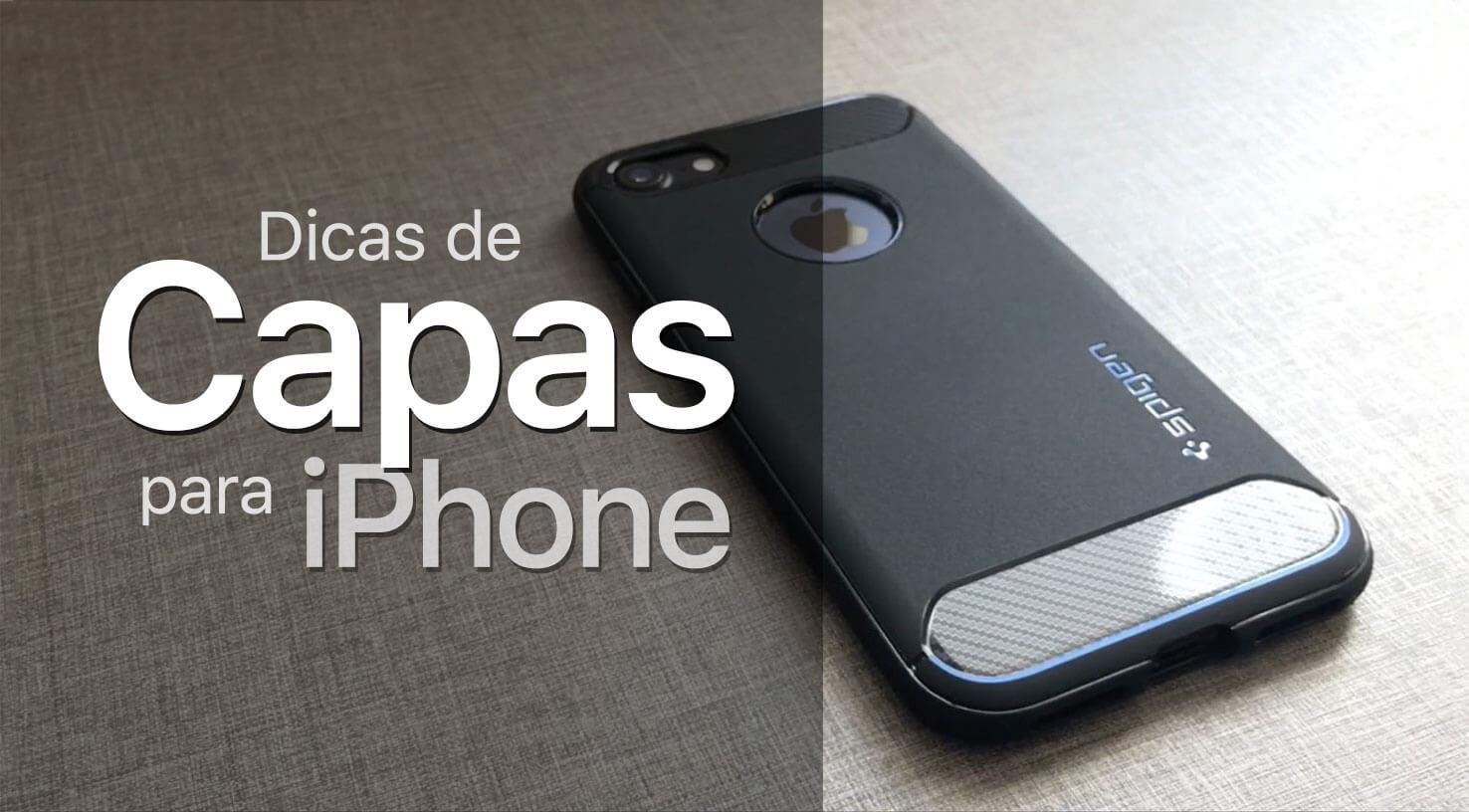 d6c0002e7d2 Confira ótimas opções de capas para o seu iPhone (+ cupom de desconto)