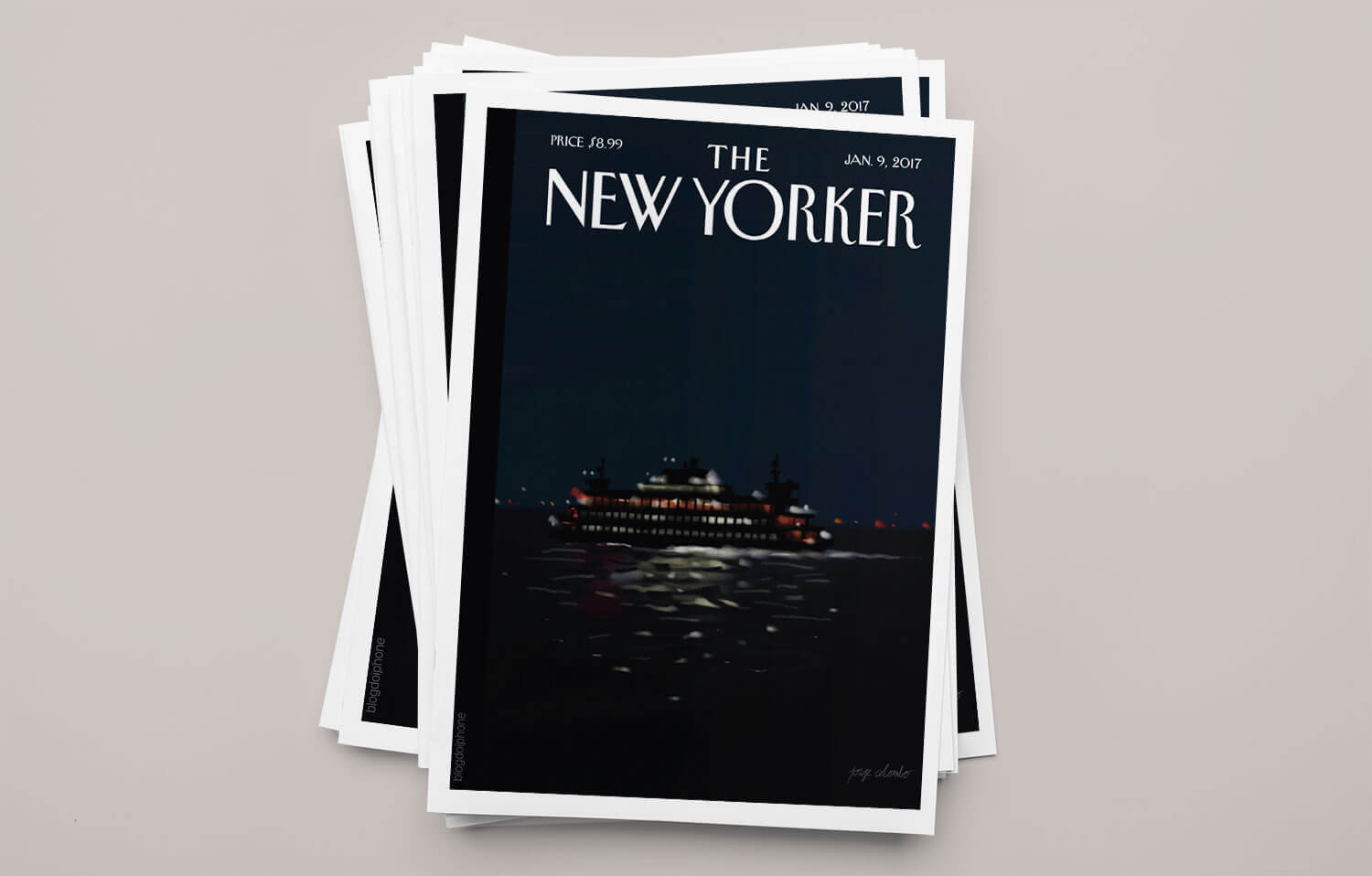 Photo of Capa da revista The New Yorker foi toda desenhada com o Apple Pencil