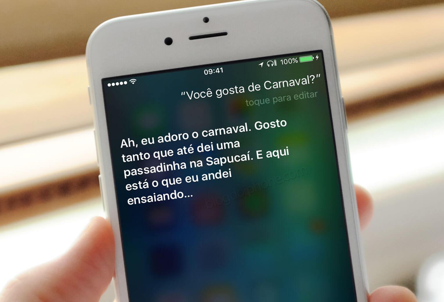 Photo of Pergunte à Siri sobre o carnaval e divirta seus amigos com o resultado