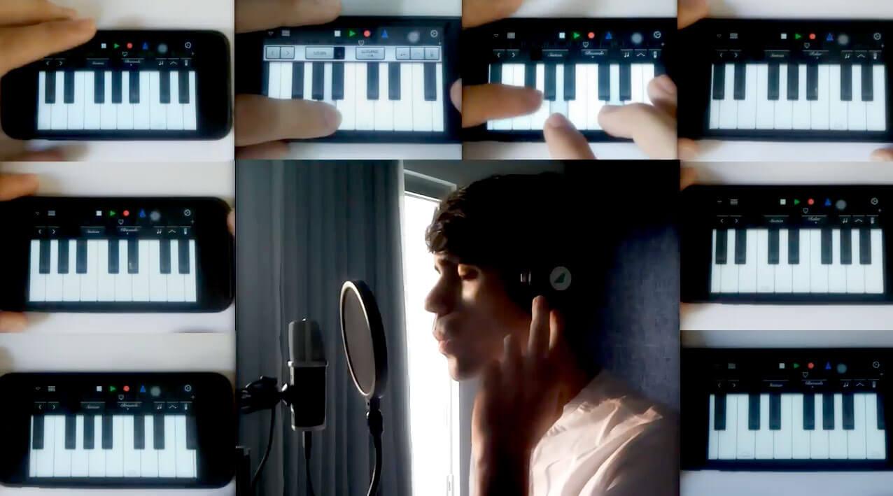 Photo of Veja um brasileiro fazendo música de qualidade usando um iPhone 5