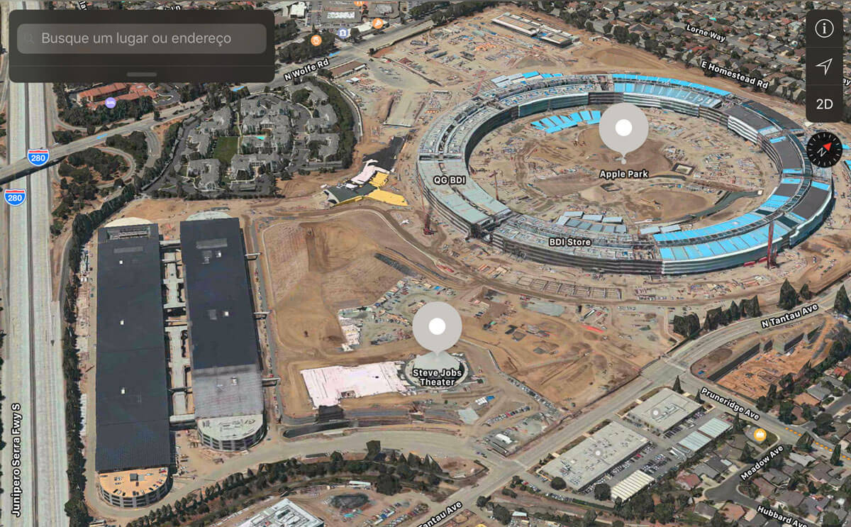 Photo of Apple Park em 3D é adicionado aos Mapas do iOS e macOS