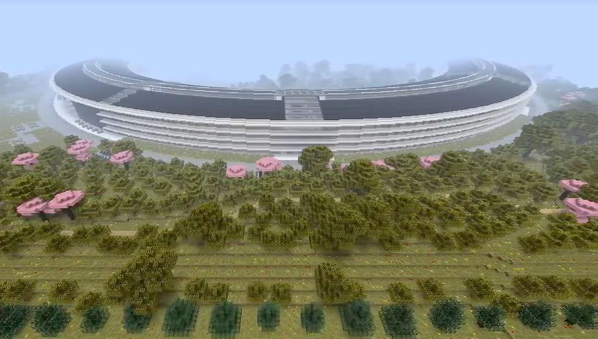 Photo of Replicaram o Apple Park no Minecraft, e ficou excelente