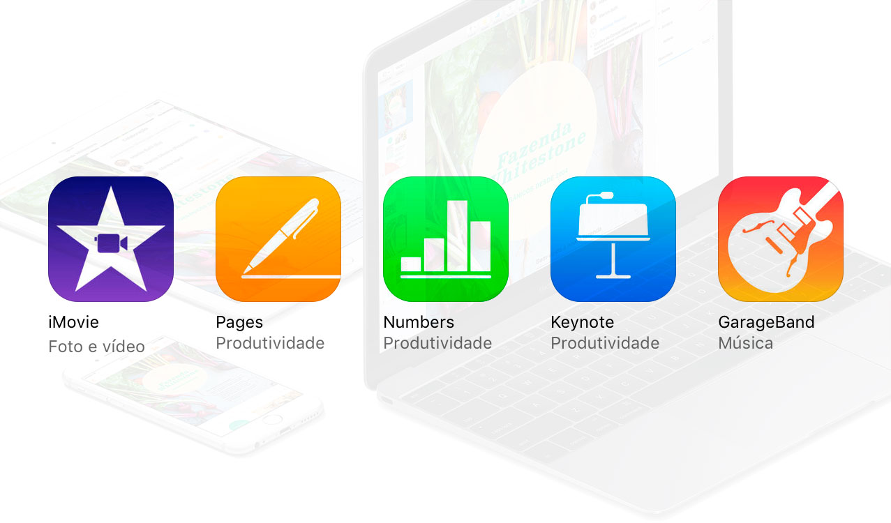 Photo of iMovie, GarageBand e iWork ficam gratuitos definitivamente na App Store