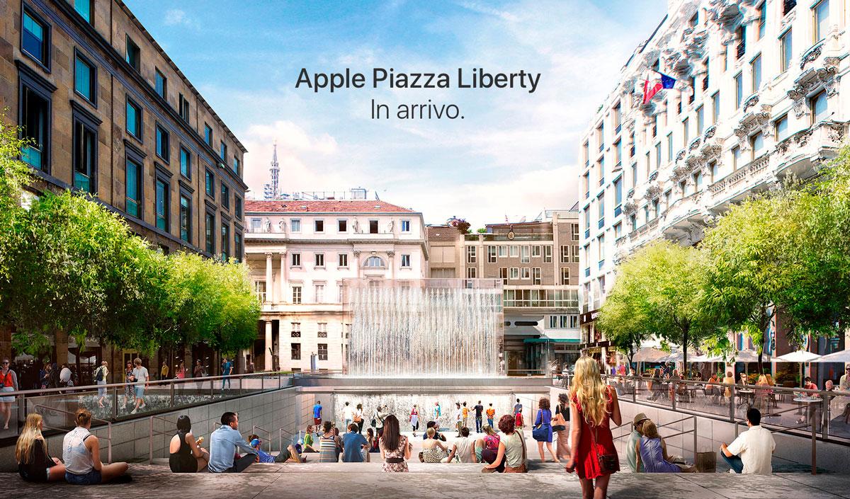 Photo of Apple reforma uma praça na Itália para implementar uma nova loja