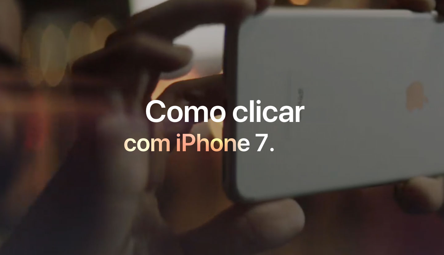 Photo of Apple divulga vídeos mostrando como fazer boas fotos com o iPhone 7