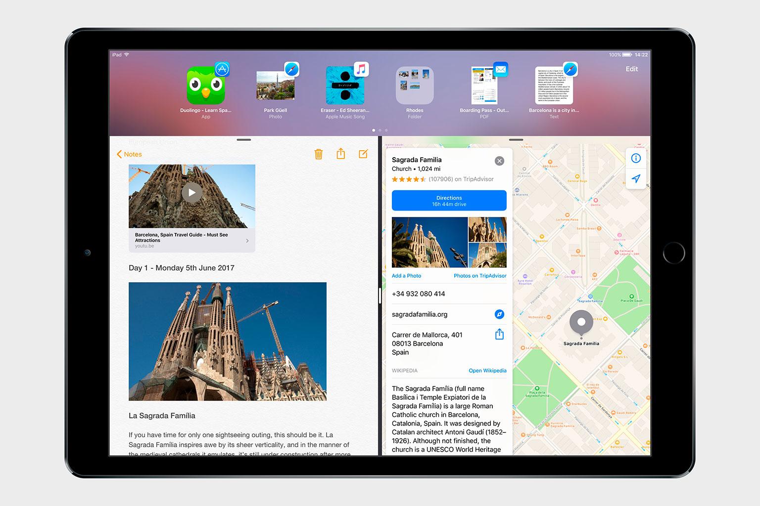 Photo of Conceito do iOS 11 mostra como o iPad poderia ser bem melhor