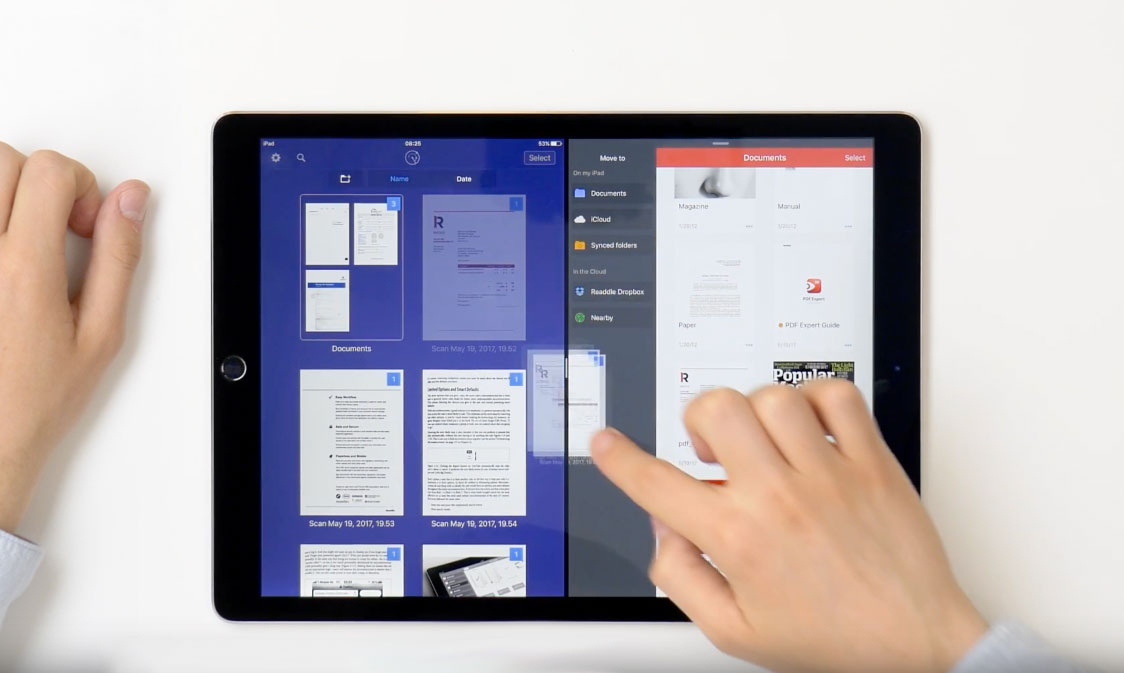 Photo of Readdle permite arrastar e soltar arquivos entre aplicativos no iPad