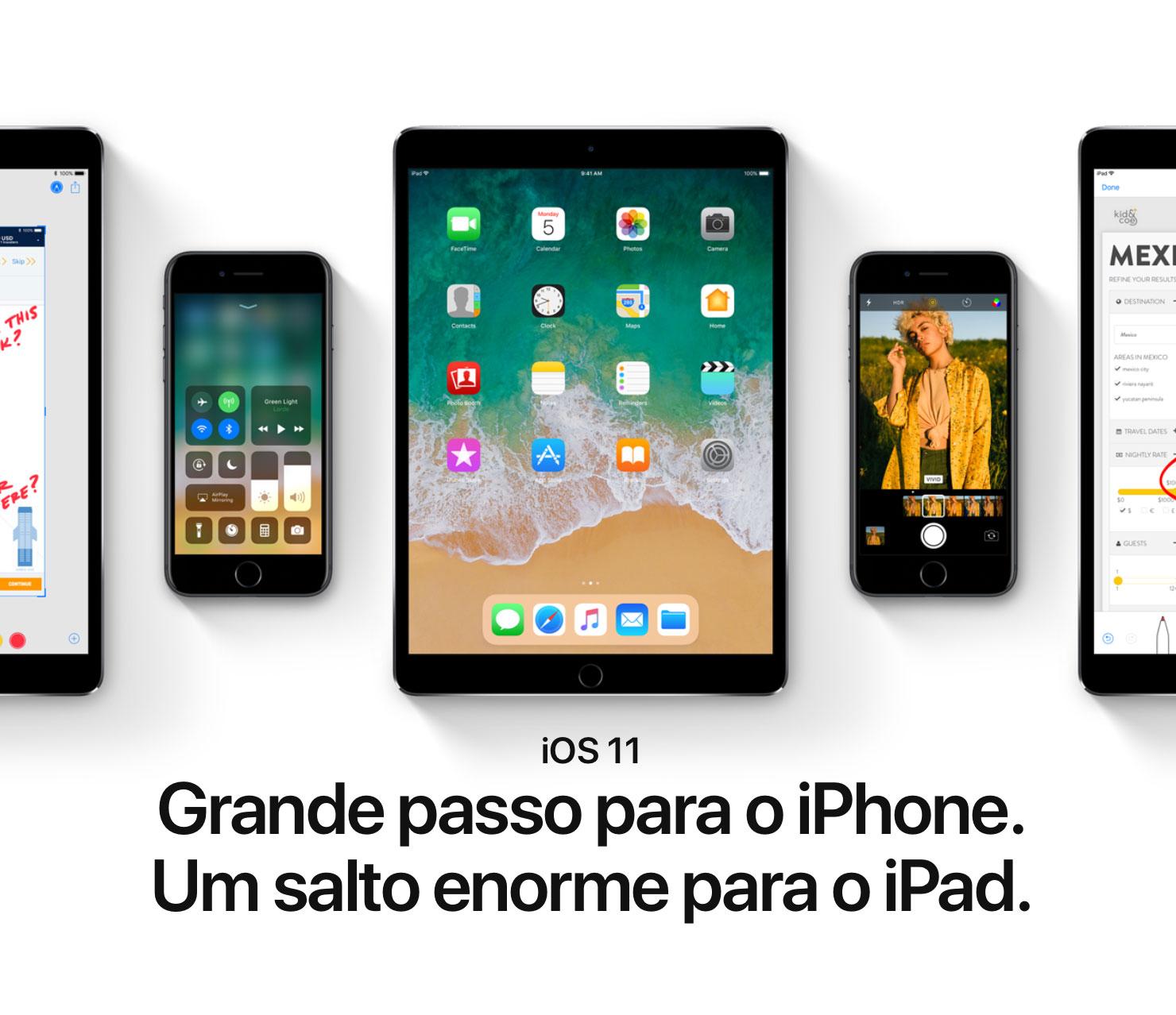 Photo of Apple apresenta o iOS 11, futuro sistema operacional do iPhone, iPad e iPod touch