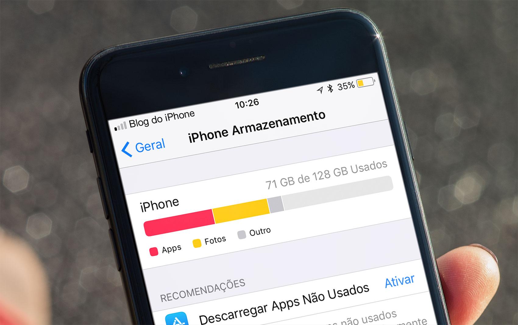 Photo of iOS 11 irá gerenciar melhor o espaço interno do seu iPhone