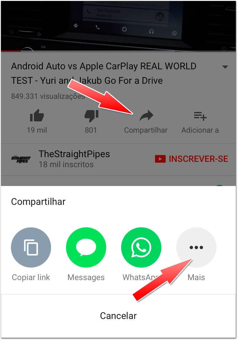como baixar videos youtube no iphone