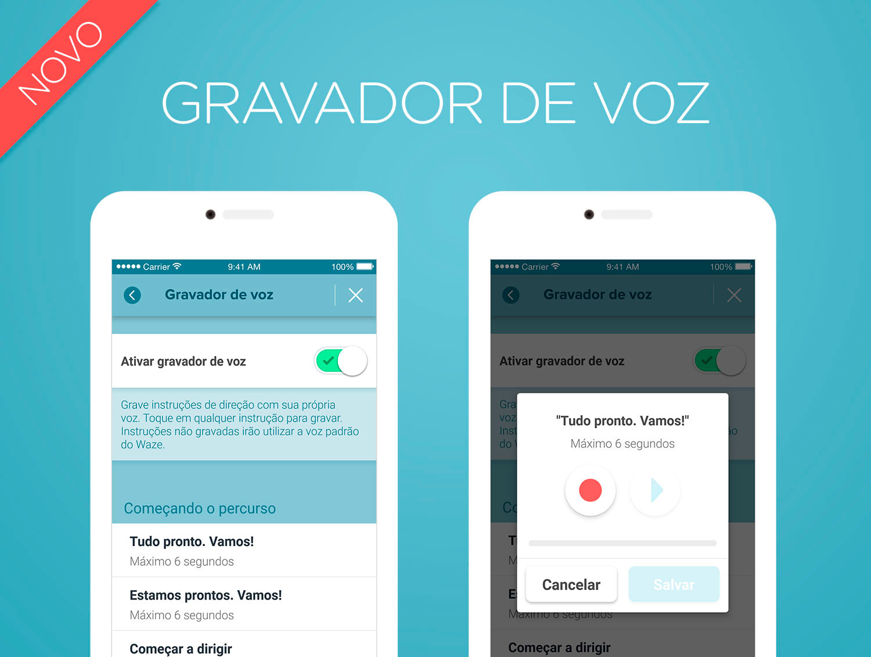 Photo of Waze passa a permitir que usuário grave a própria voz para guiar a rota