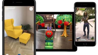 Photo of Confira alguns aplicativos com Realidade Aumentada que veremos no iOS 11