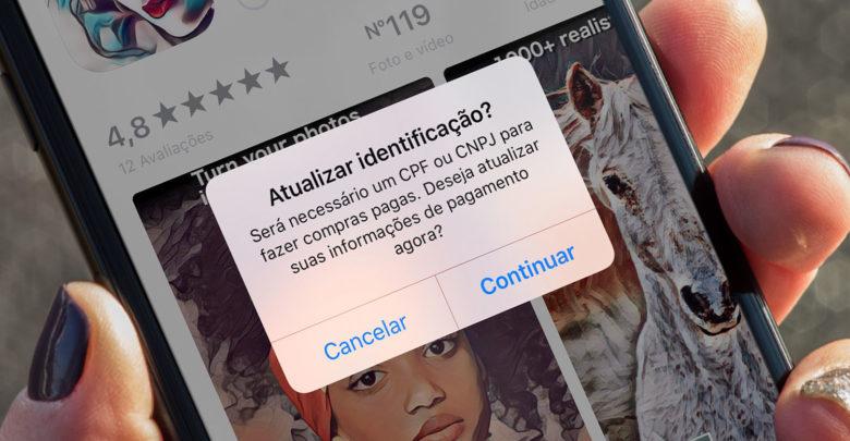 Photo of App Store Brasil começa a exigir cadastro de CPF. Será um sinal?