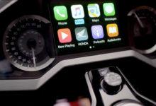 Photo of Honda é a primeira a colocar o CarPlay em uma moto