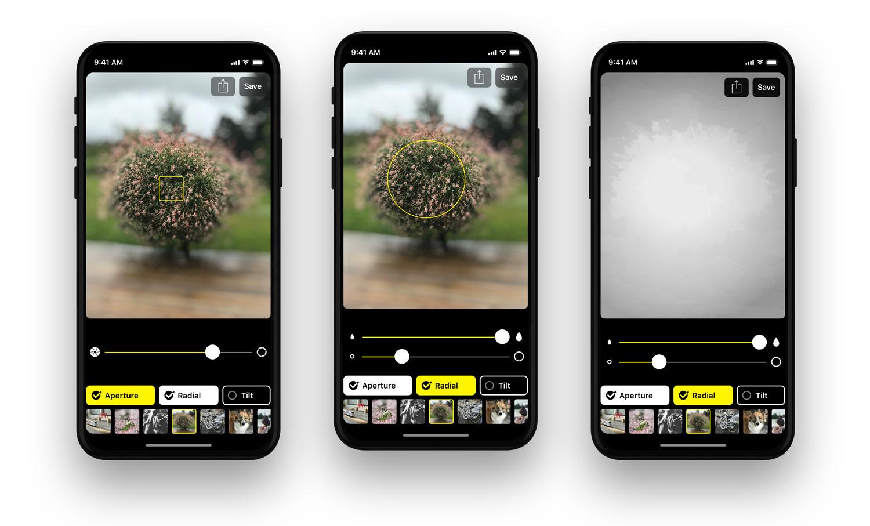 aplicativo permite editar profundidade do modo retrato em. Black Bedroom Furniture Sets. Home Design Ideas