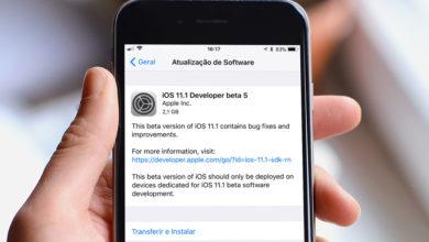 Photo of Apple tem pressa e libera o 5º beta do iOS 11.1 para desenvolvedores