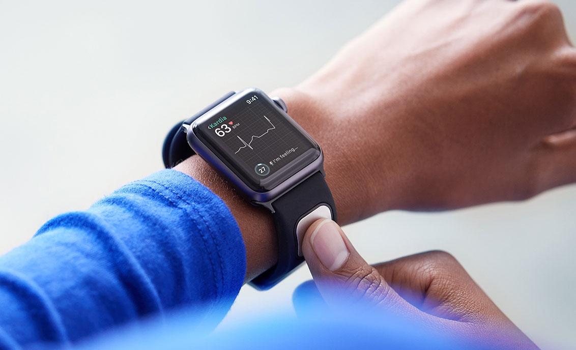 a5f00be9475 FDA aprova pulseira para Apple Watch capaz de realizar um eletrocardiograma  do usuário » Blog do iPhone