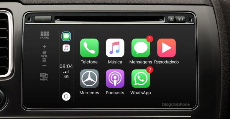 Photo of WhatsApp agora é compatível com CarPlay
