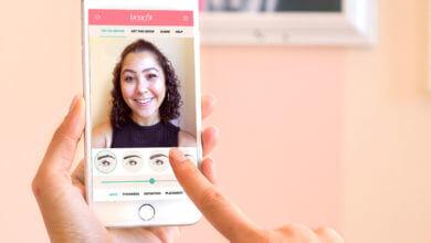 Photo of Site de maquiagem usa Realidade Aumentada para você escolher suas sobrancelhas