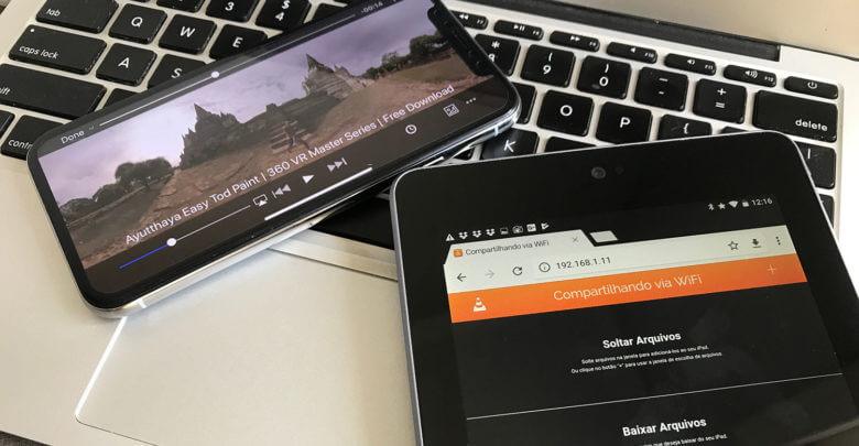 Aplicativo VLC irá permitir conectar um dispositivo Android
