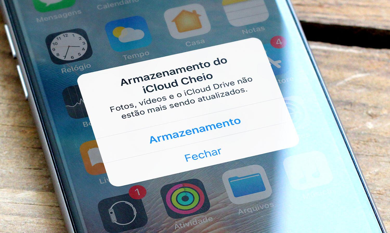 Seu iCloud está cheio  Veja como liberar espaço nele » Blog do iPhone f9940e317f