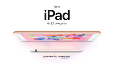 Photo of Apple anuncia um novo iPad 9.7″, compatível com Apple Pencil