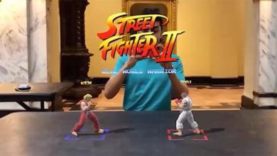 Photo of Conceito mostra como seria misturar Street Fighter com Realidade Aumentada