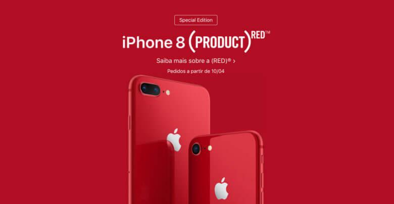 Photo of Novo modelo do iPhone 8 e 8 Plus é lançado na cor vermelha