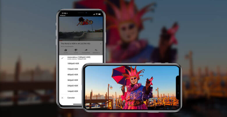 Photo of Aplicativo do YouTube ganha suporte a vídeos HDR no iPhone X