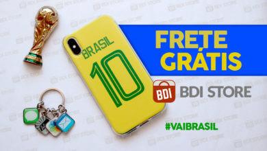 Photo of Promoção #VAIBRASIL: frete grátis até o jogo do Brasil e chaveiro de brinde se a Seleção ganhar!