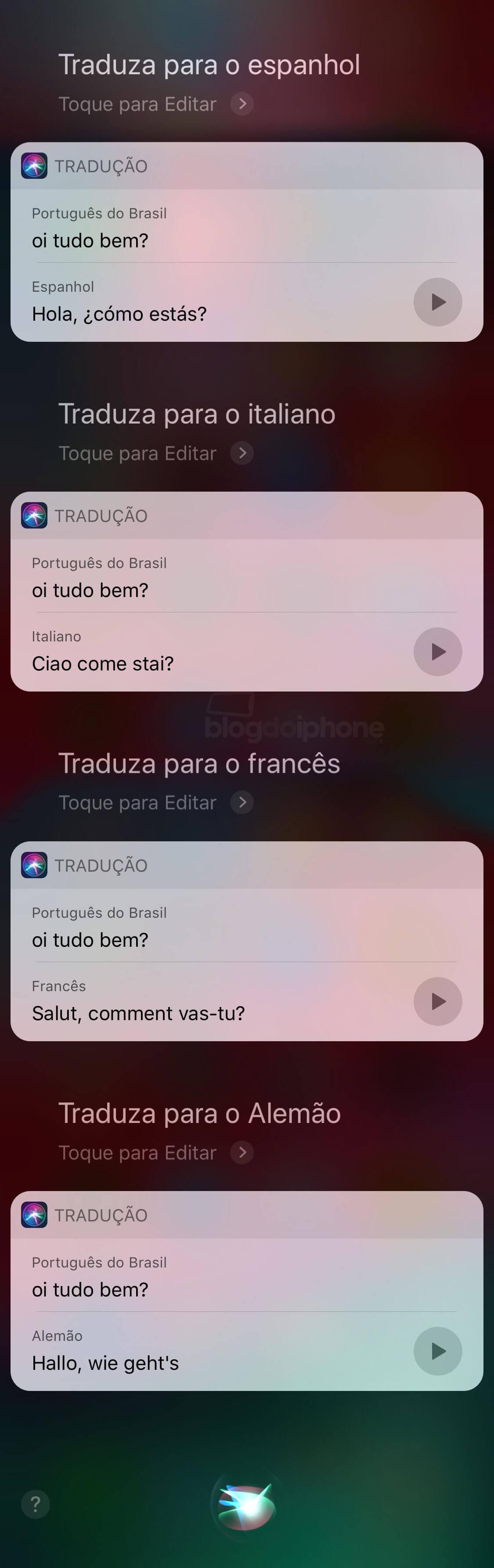 Ios 12 Traz Função De Tradução De Frases Pela Siri Para O