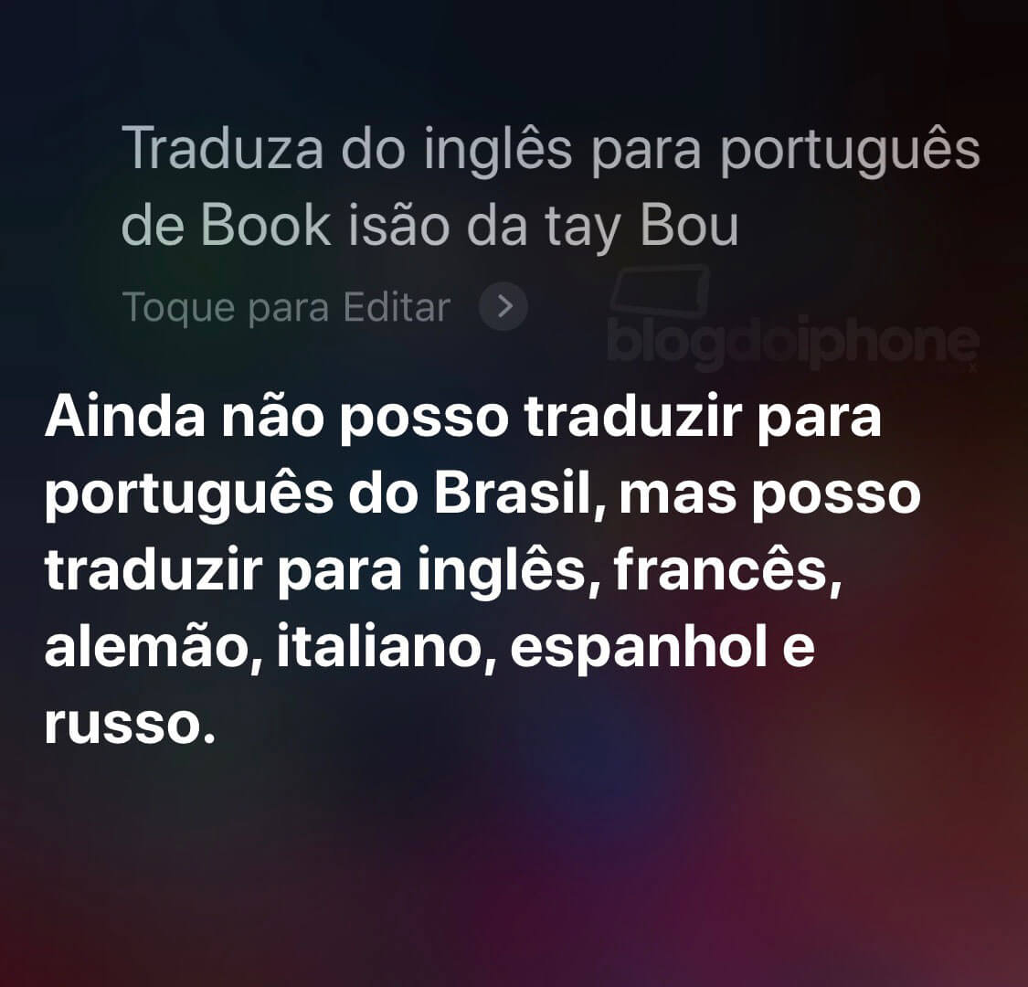 Ios 12 Traz Função De Tradução De Frases Pela Siri Para O Brasil