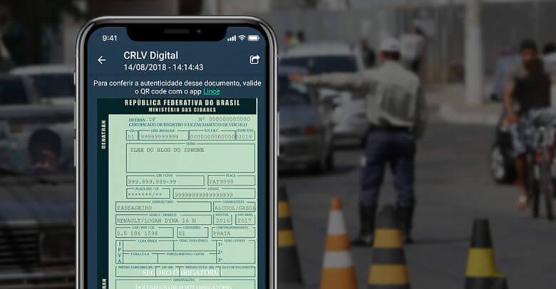 Photo of Agora o seu licenciamento do carro também terá versão digital no iPhone