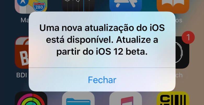 Photo of Bug chato faz mensagem aparecer no beta do iOS 12 sempre que o aparelho é desbloqueado