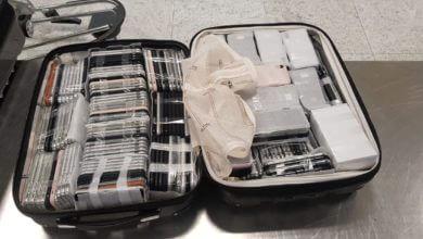 246 iPhones apreendidos pela Receita