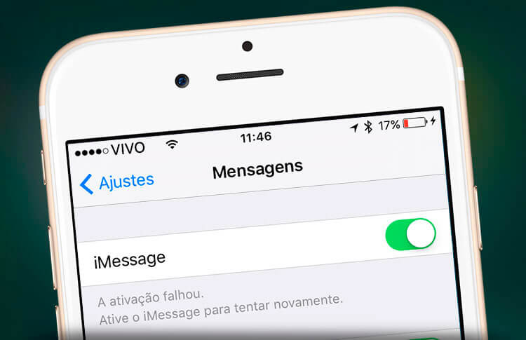 Problema iMessage Vivo