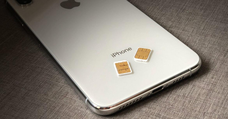 Como irá funcionar o Dual SIM no iPhone XS e XR