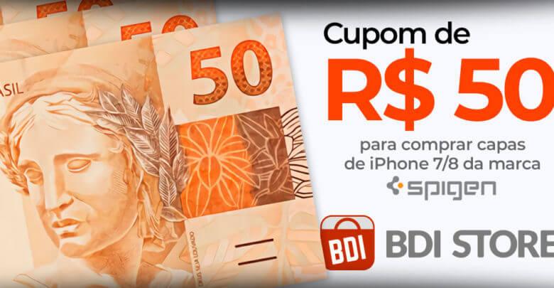 Photo of Ganhe R$50 na BDI Store em compras de capas para iPhones 7, 8 e Plus!