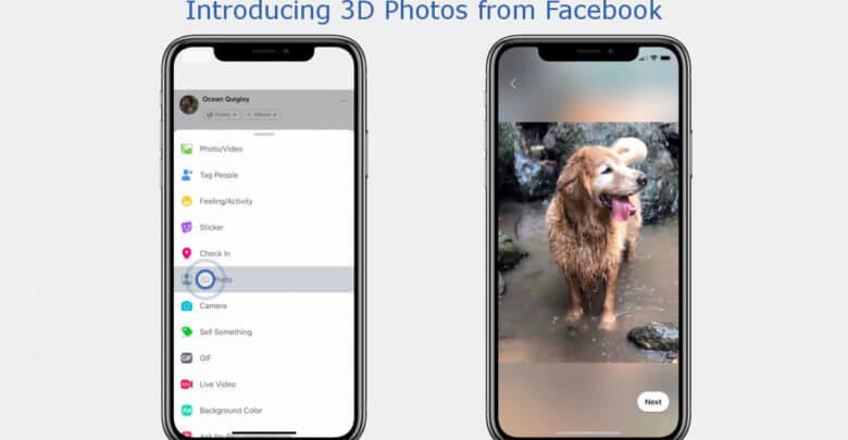 Photo of Facebook transformará fotos em modo Retrato em imagens em 3D na sua timeline
