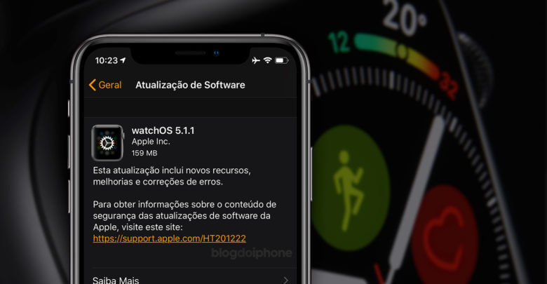 Photo of Apple lança nova atualização do sistema especialmente para o Watch