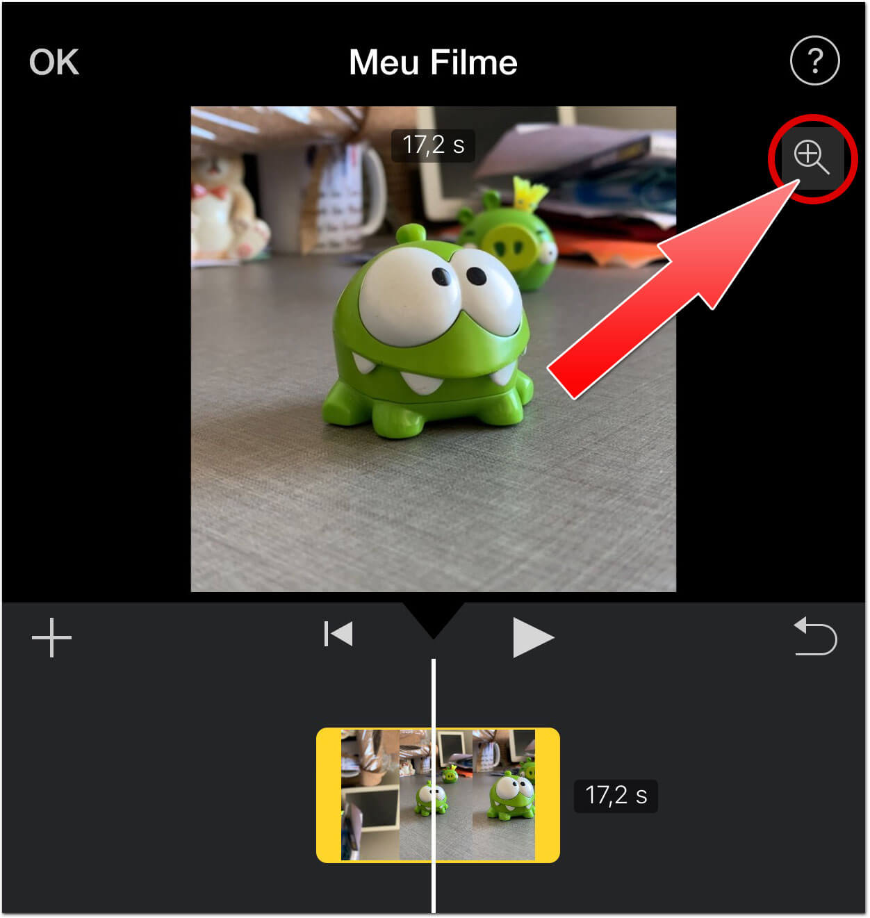how to make a video vertical in imovie