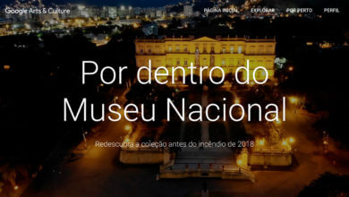 Photo of Google disponibiliza visita virtual ao Museu Nacional do RJ antes do incêndio