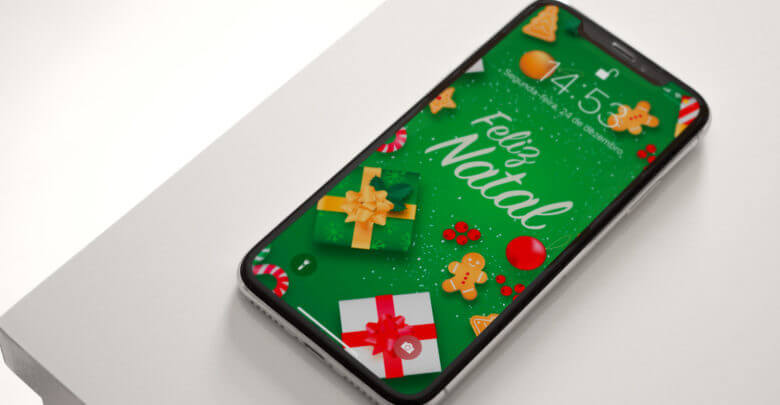 Photo of Baixe no seu iPhone os wallpapers especiais de Natal