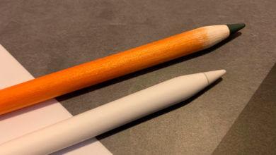 Photo of Usuário consegue decorar seu Apple Pencil para ficar com aparência de um lápis real