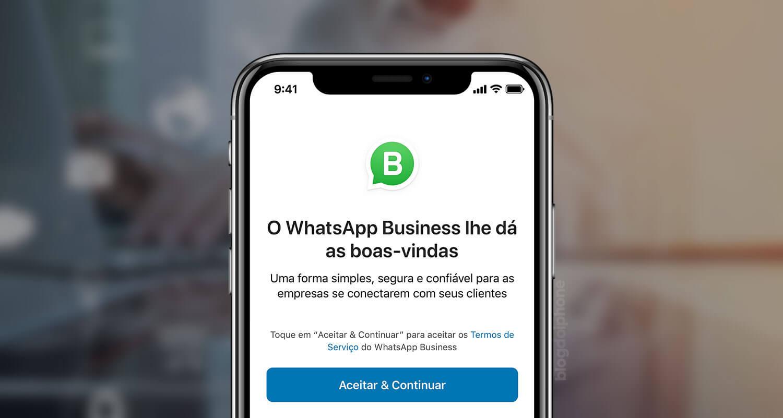 7a59a97a4 WhatsApp Business chega finalmente ao iPhone