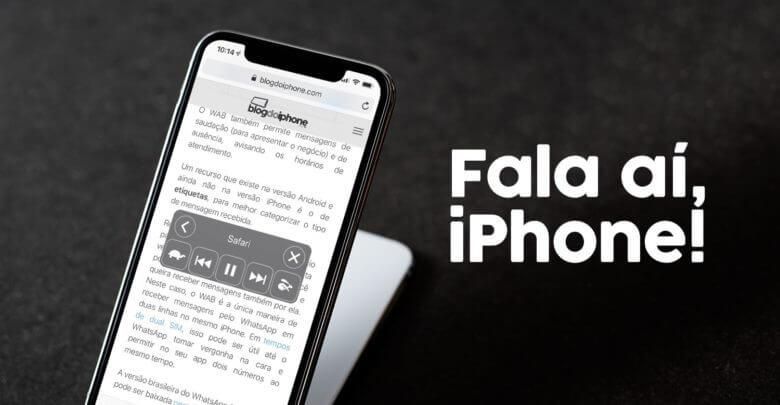 Photo of Como fazer seu iPhone (ou iPad) ler um texto em voz alta para você
